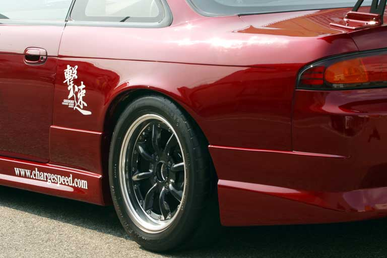 Nissan S14 Rear fender +50mm